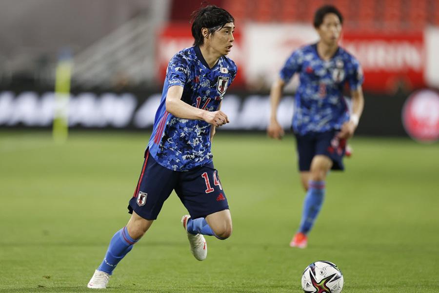 日本代表が伊東純也のゴールでセルビア代表に勝利【写真:Yukihito Taguchi】