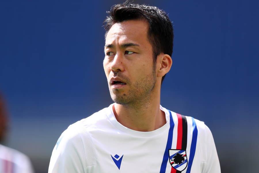 サンプドリアからの退団が噂される日本代表DF吉田麻也【写真:Getty Images】