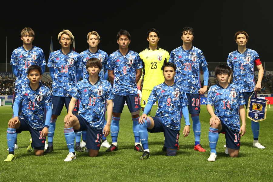 U-24日本代表のスタメンが発表【写真:©JFA】