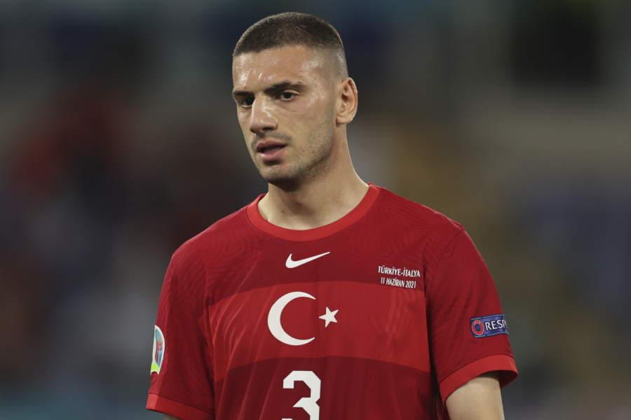 トルコ代表DFデミラル【写真:Getty Images】