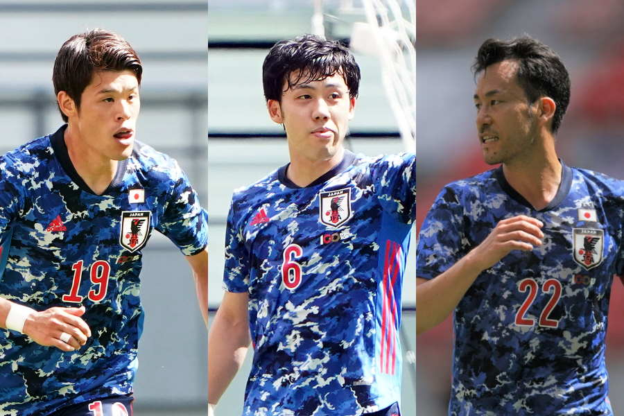 OA枠としてU-24日本代表を支える酒井、遠藤、吉田【写真:Getty Images & Yukihito Taguchi】