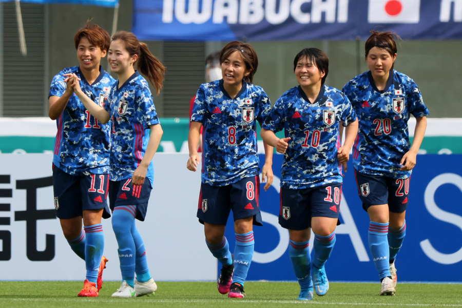 なでしこジャパンが大量5点で快勝【写真:Getty Images】