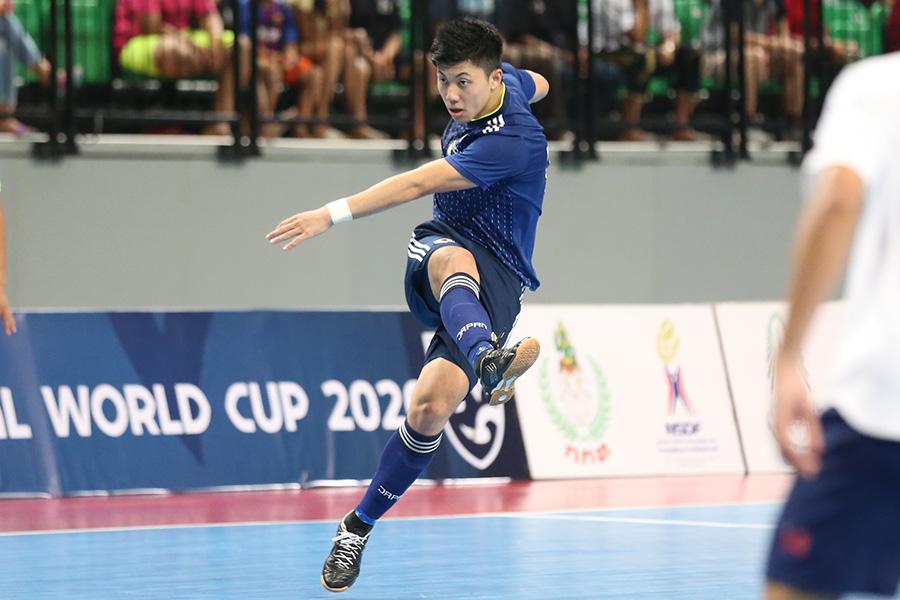 FP清水和也がスペイン1部に所属するコルドバ・パトリモニオと契約を延長【写真:河合 拓 / Futsal X】
