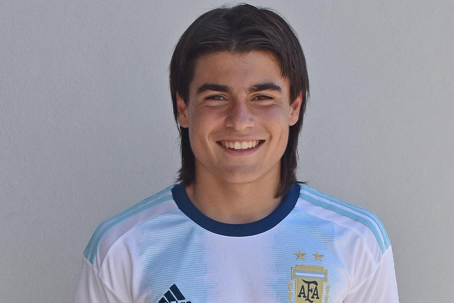 マジョルカに在籍しているMFルカ・ロメロ(写真はU-15アルゼンチン代表のときのもの)【写真:Getty Images】