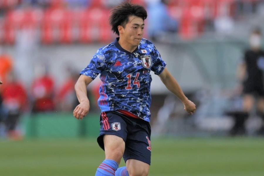 東京五輪に出場するU-24日本代表メンバーの相馬勇紀【写真:Yukihito Taguchi】