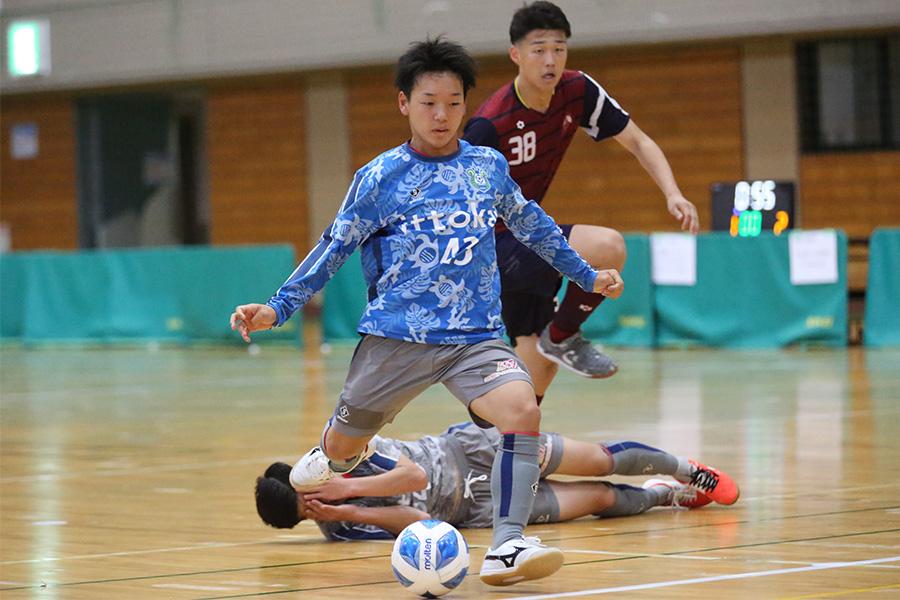 SBFCロンドリーナでプレーするFP和田明日樹【写真:Futsal X・河合 拓】