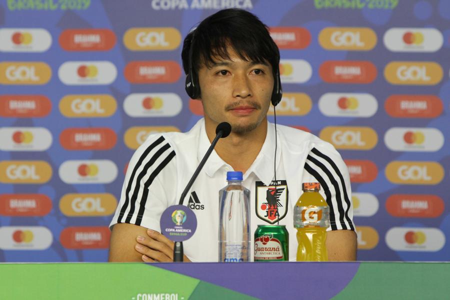 日本代表MF柴崎岳【写真:Football ZONE web】