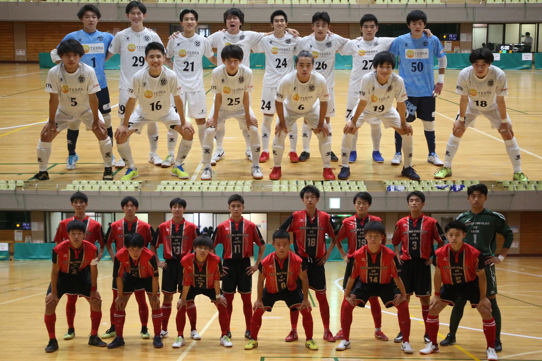 リガーレ東京U-18(写真)と矢板中央高校がフットサルで対決【写真:Futsal X ・河合 拓】