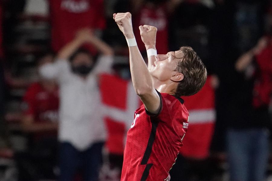 浦和レッズで活躍するFWキャスパー・ユンカー【写真:Getty Images】