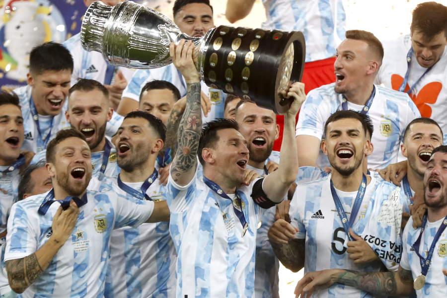 絶対的エースのアルゼンチン代表FWリオネル・メッシ【写真:AP】