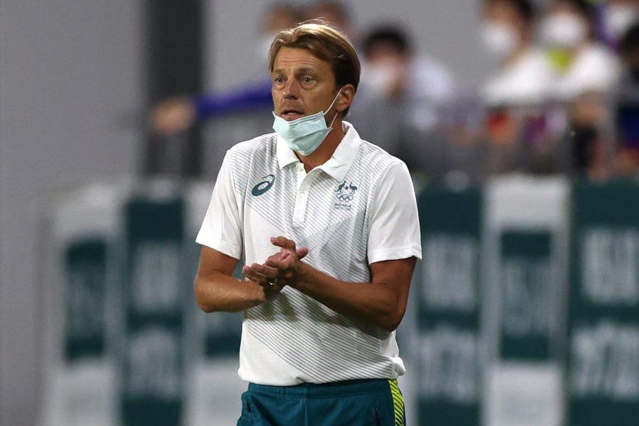 オーストラリアを率いるトニー・グスタフソン監督は試合後【写真:Getty Images】