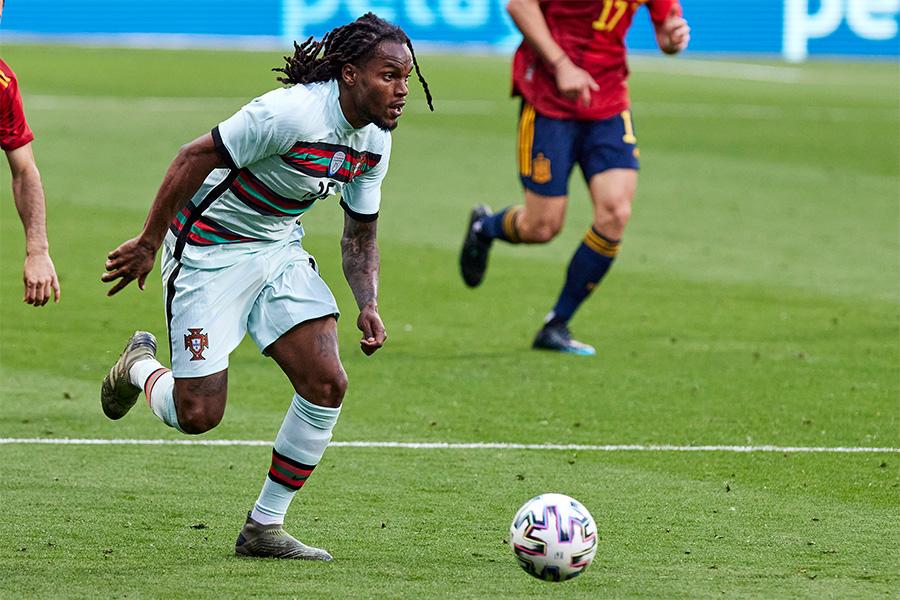 EUROで活躍をしたポルトガル代表MFレナト・サンチェス【写真:Getty Images】