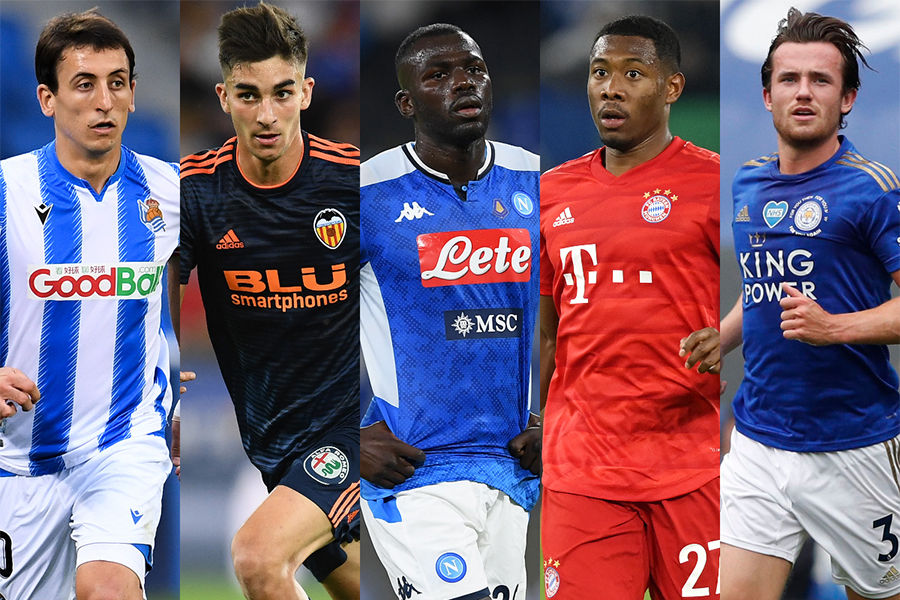 マンチェスター・シティの獲得候補として5人の選手が挙げられた【写真:Getty Images】