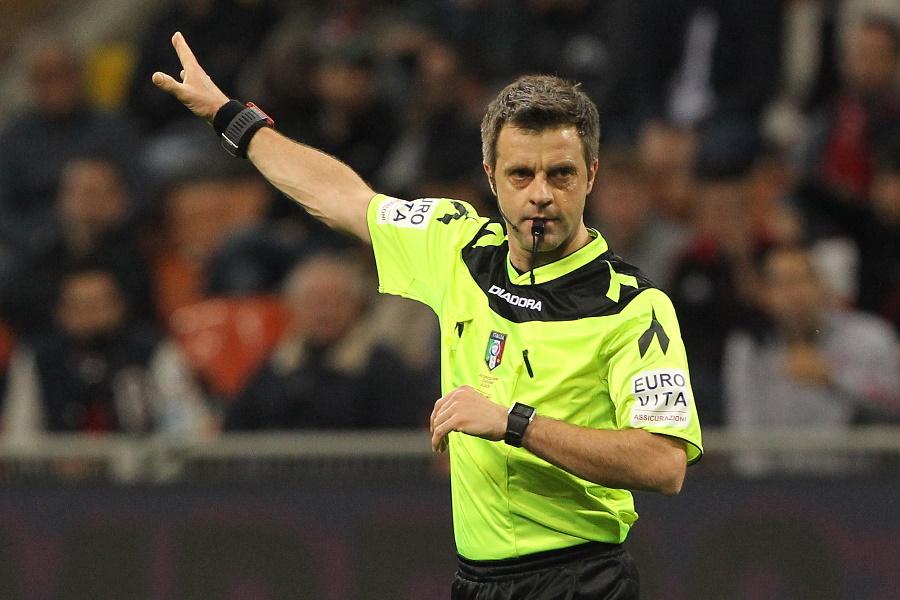 かつてイタリア人の名レフェリーとして試合を裁いたニコラ・リッツォーリ氏【写真:Getty Images】