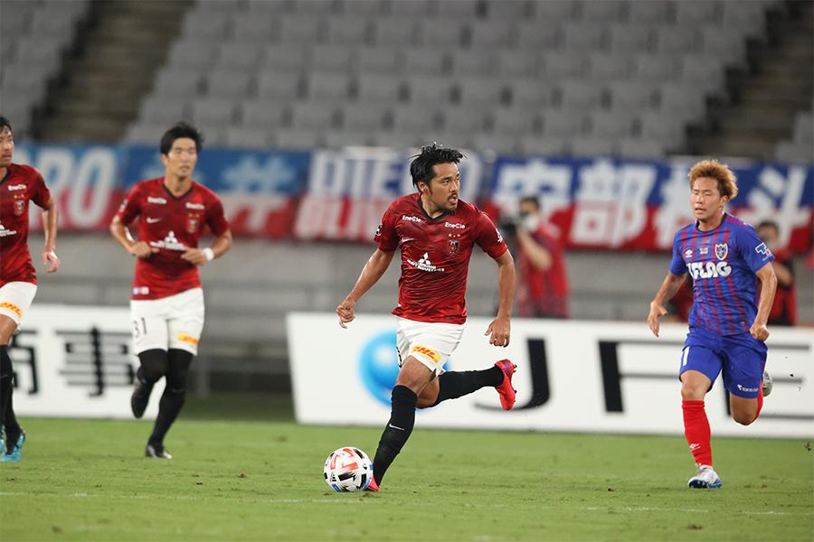 浦和レッズがFC東京に敗れ、今シーズン初黒星となった【写真:高橋学】