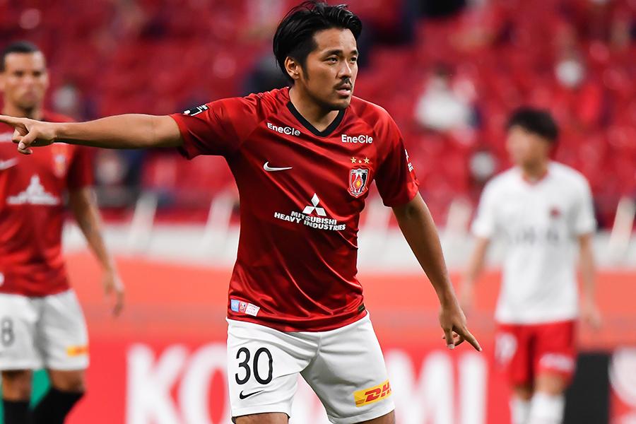 直近5シーズンで10ゴール以上得点を決めている浦和レッズFW興梠慎三【写真:高橋学】