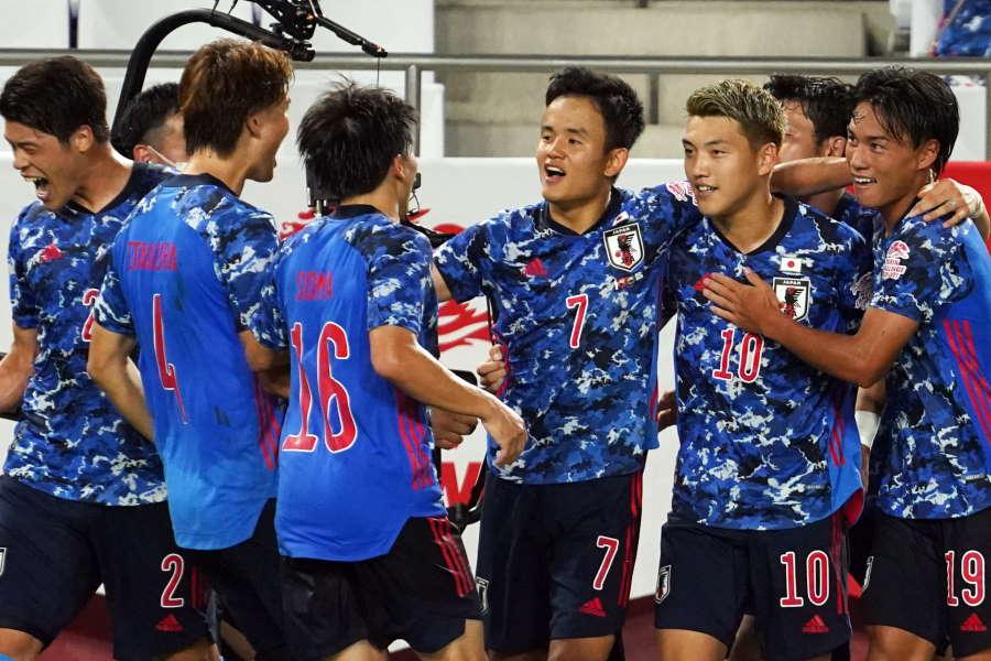 自国開催でメダル獲得を目標に掲げるU-24日本代表【写真:Getty Images】