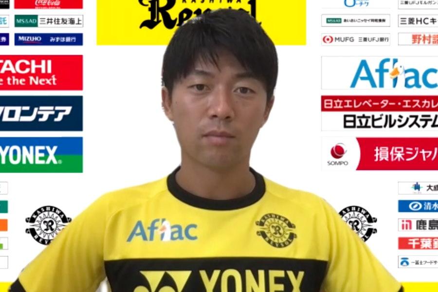 柏に完全移籍した元日本代表FW武藤雄樹【画像:Football ZONE web】