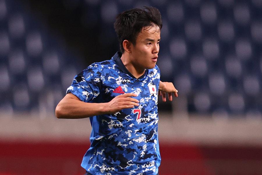 2試合連続ゴールを決めたU-24日本代表MF久保建英【写真:Getty Images】