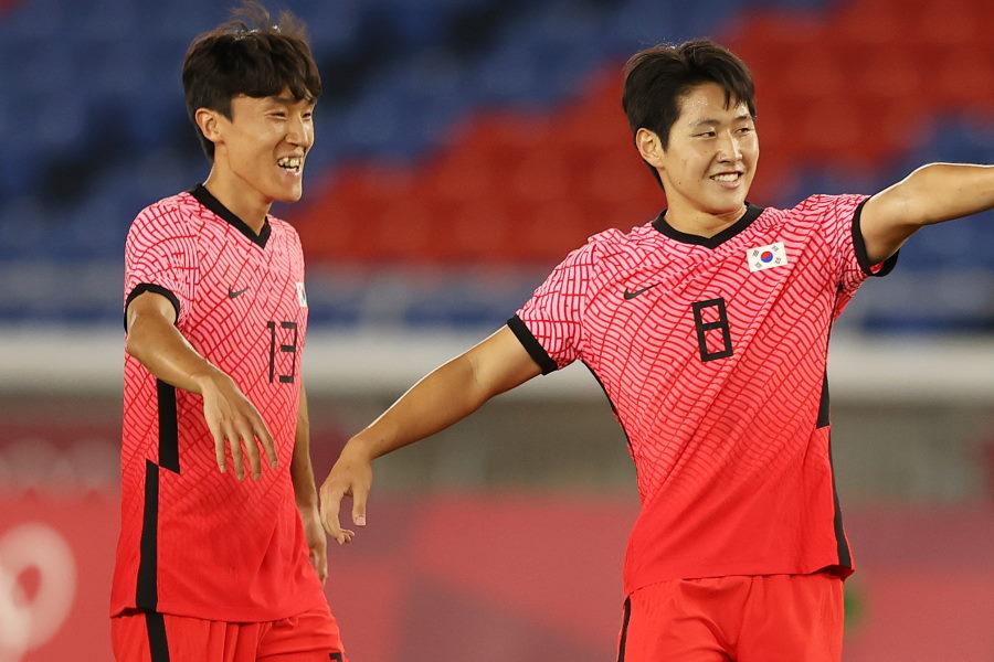 韓国代表がホンジュラス代表から6得点で大勝【写真:Getty Images】