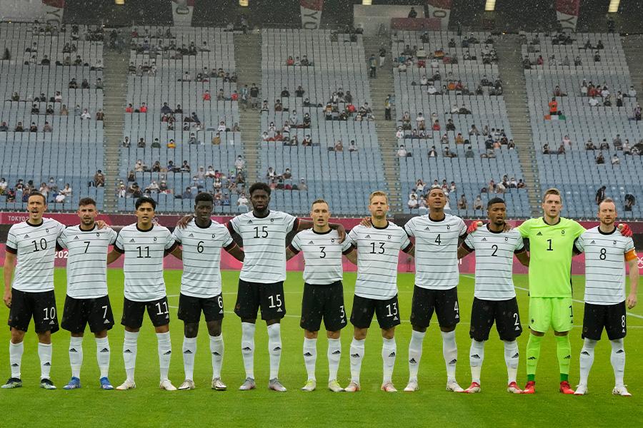 ドイツサッカー代表の感謝メッセージに注目【写真:AP】