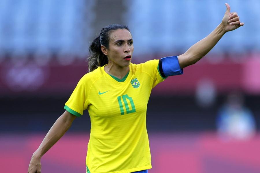 ブラジル10番マルタ【写真:Getty Images】