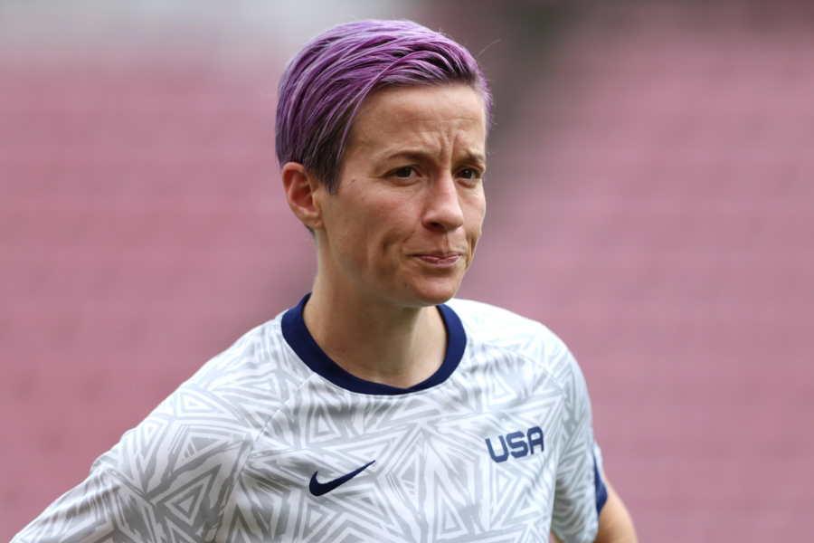 アメリカ女子代表FWミーガン・ラピノー【写真:Getty Images】