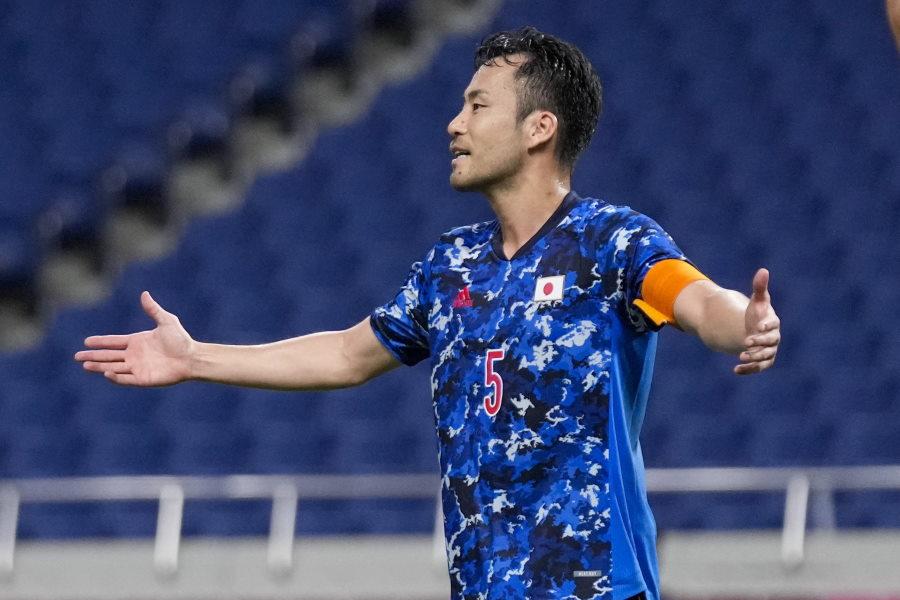 U-24日本代表キャプテンを務める吉田麻也【写真:AP】