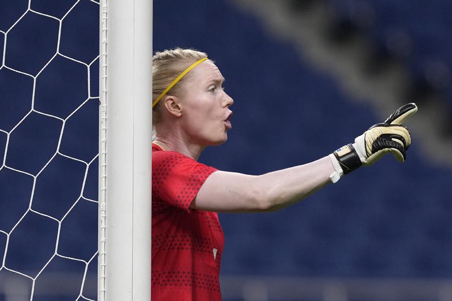 スウェーデン女子代表GKヘドヴィグ・リンダール【写真:AP】