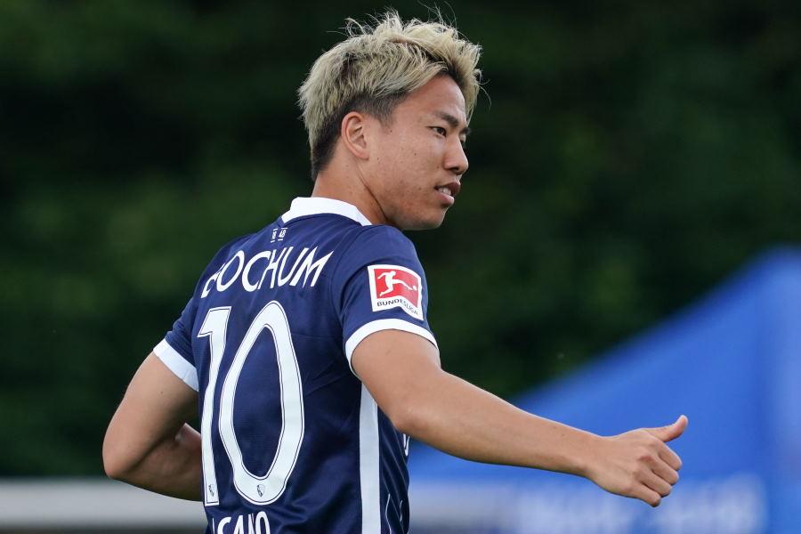 ドイツ1部ボーフムに移籍した日本代表FW浅野琢磨【写真:Getty Images】
