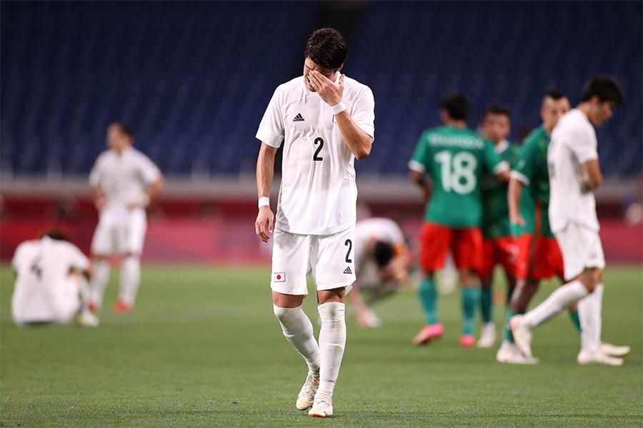 日本代表はメキシコ代表に敗れメダル獲得ならず【写真:Getty Images】