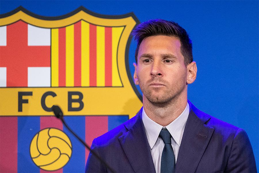 バルセロナが再びメッシにオファー?【写真:Getty Images】