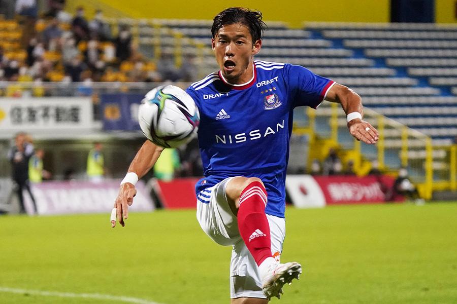 横浜F・マリノスでプレーするDF小池龍太【写真:Getty Images】