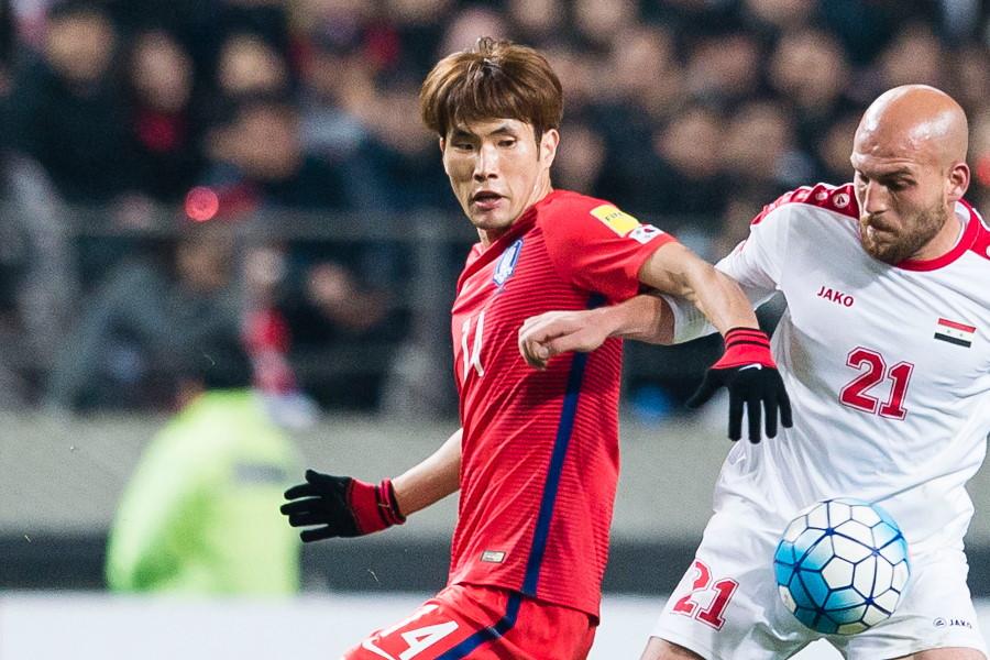 韓国代表時代のMFハン・グギョン【写真:Getty Images】