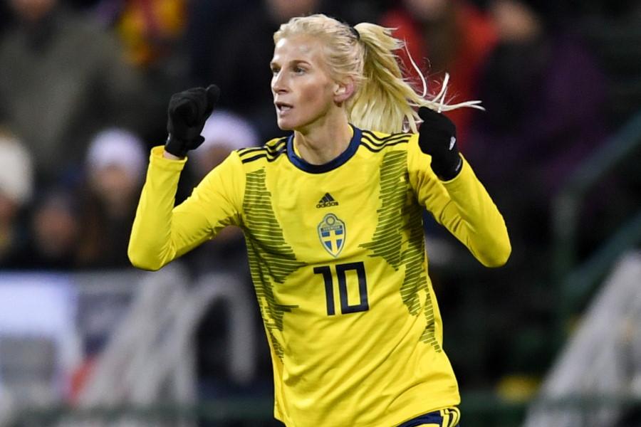 スウェーデン女子代表MFソフィア・ヤコブソン【写真:Getty Images】