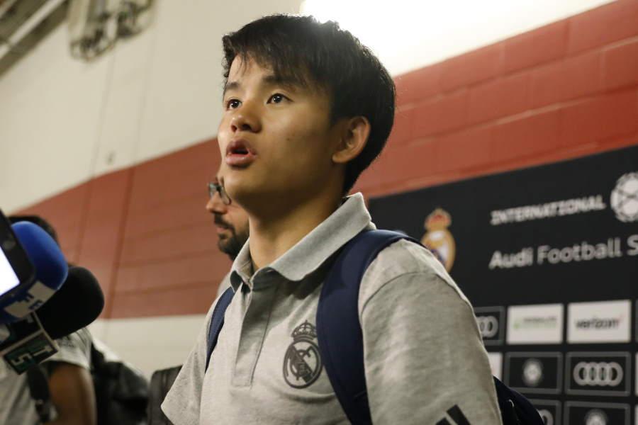 ビジャレアルへレンタル移籍した日本代表MF久保建英【写真:Yukihito Taguchi】