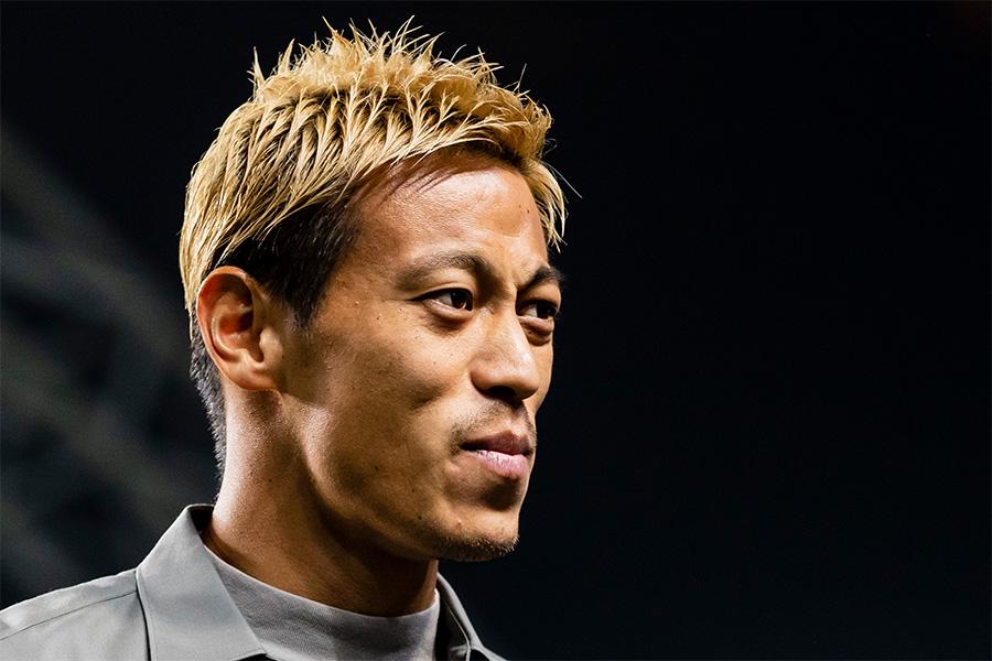 元日本代表MF本田圭佑が公式SNSを更新【写真:Getty Images】