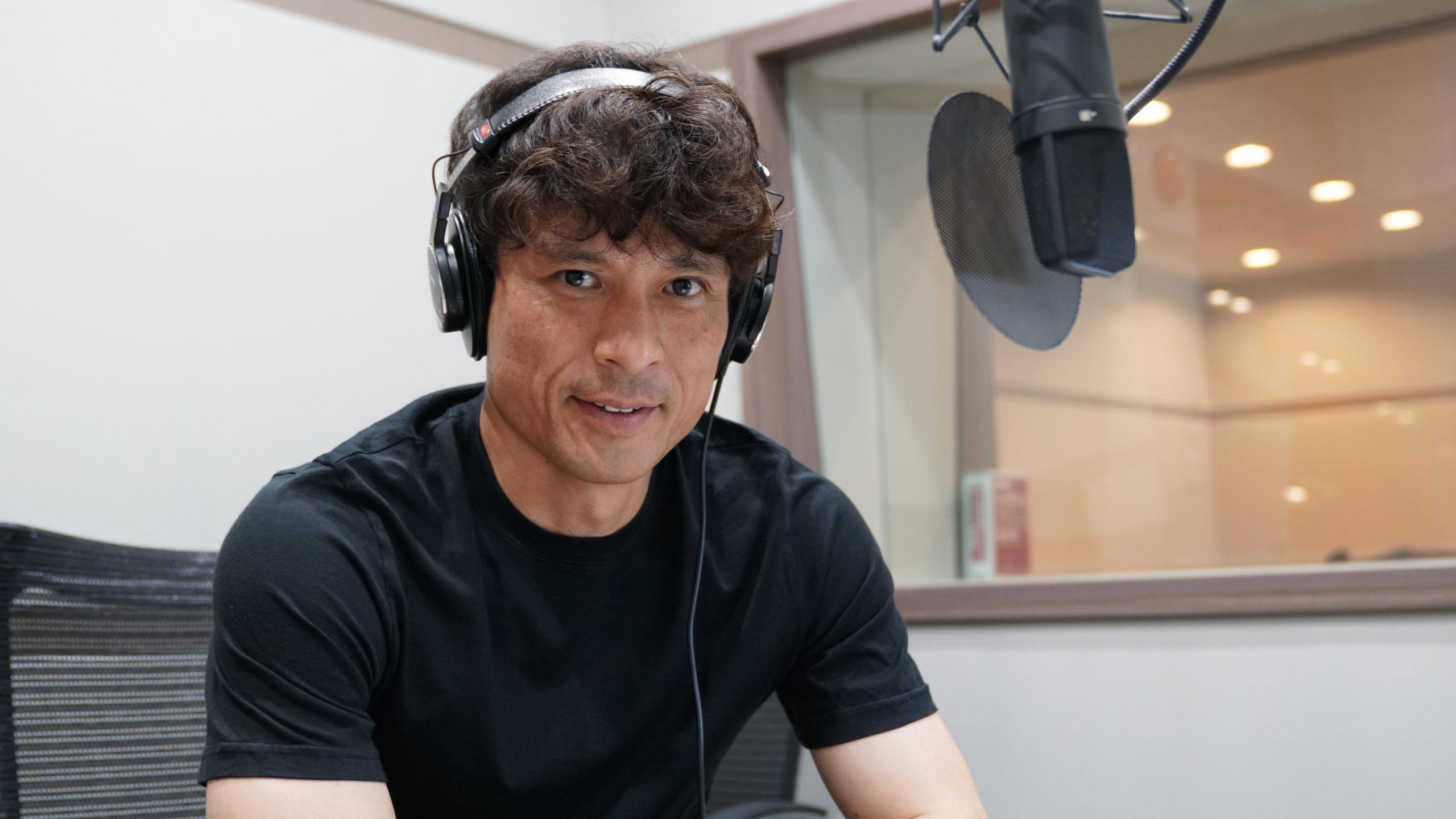 宮本恒靖氏を起用した新CMが開始される【写真:DAZN】