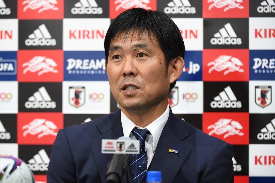 日本代表の森保一監督【写真:©JFA】