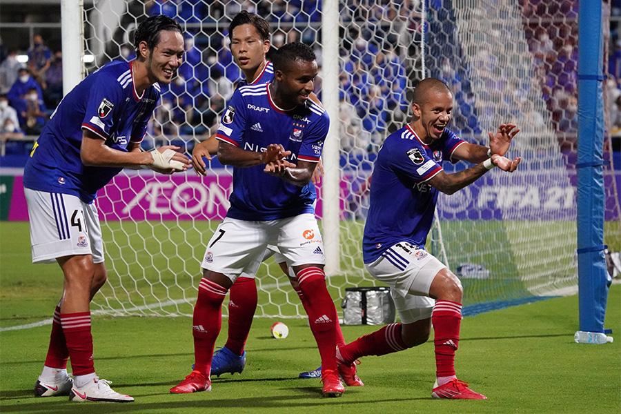 直近3試合で14得点と好調な横浜F・マリノス【写真:Getty Images】