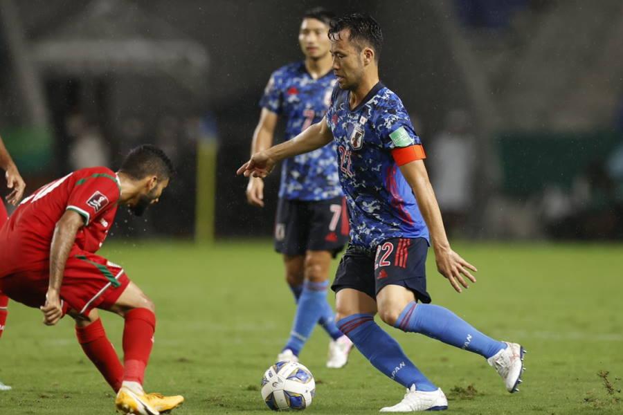 日本代表は前半0-0で後半へ【写真:Yukihito Taguchi】