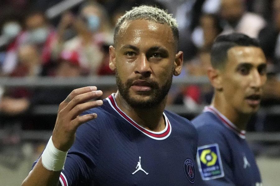 ブラジル代表FWネイマール(パリ・サンジェルマン)【写真:AP】