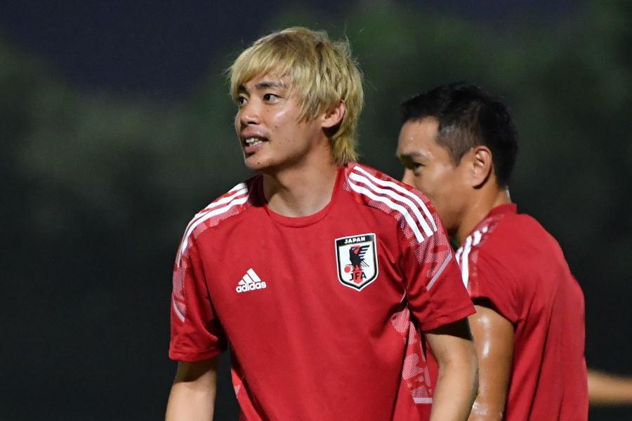 日本代表MF伊東純也【写真:©JFA】