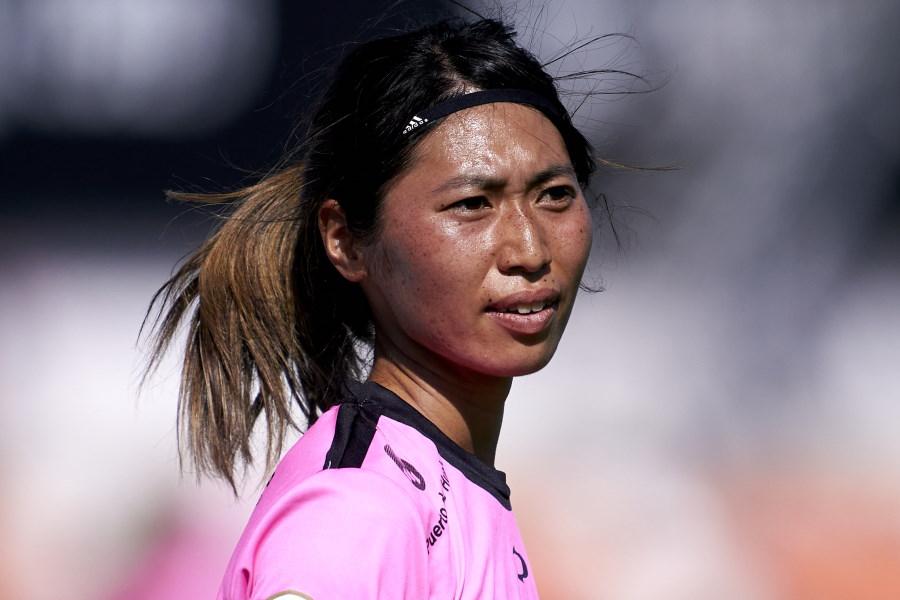 ラージョ・バジェカーノへ移籍したMF田中陽子【写真:Getty Images】