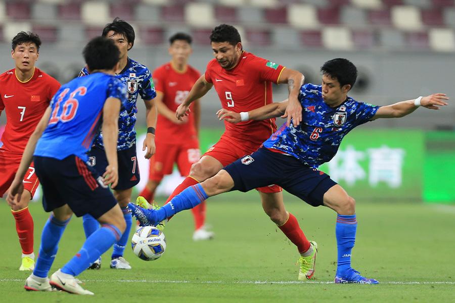 中国メディアが代表チームに対して厳しい評価【写真:AP】