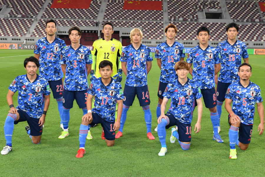 中国を1-0で破った日本代表【写真:©JFA】