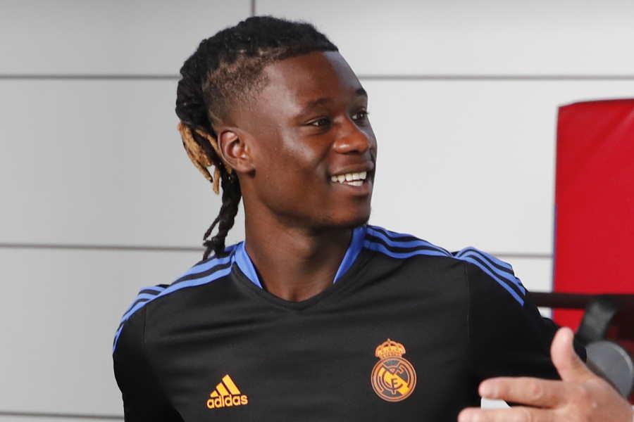 レアルに移籍した18歳MFカマヴィンガ【写真:Getty Images】