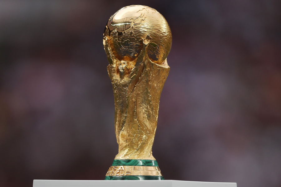 ワールドカップトロフィー【写真:Getty Images】