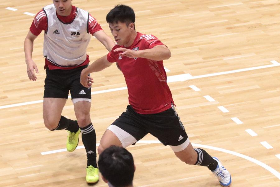 フットサル日本代表の清水和也【写真:河合拓/Futsal X】