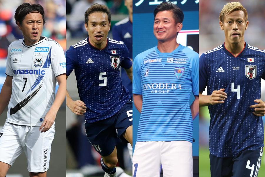 JFAによるサッカー日本代表ベストイレブンアンケートの結果が発表【写真:高橋 学 & Yukihito Taguchi & Getty Images】